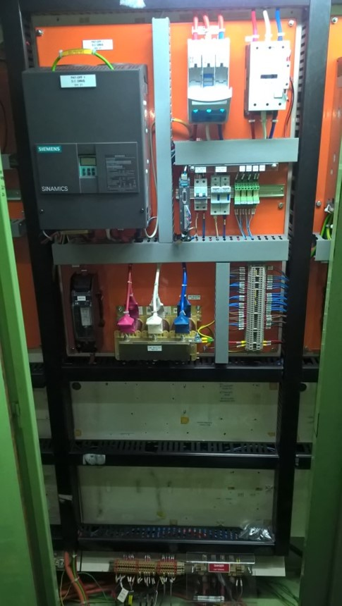 Drive panels for Copper Tube Line & PLC Upgrade manufactured by I S Systems